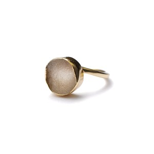 ROUGH STONE RING GOLD 023