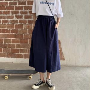 ゆったりロングスカート