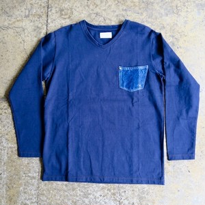 Delave Jersey V Neck T Shirt 3color(別注品)