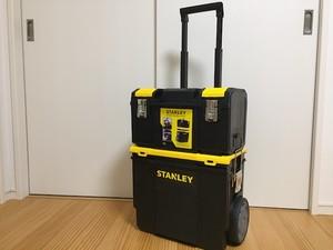 スタンレー(STANLEY)ツールボックス 3-in-1 Mobile Work Center