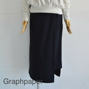 Graphpaper/グラフペーパー・Mery Nylon Wrap Skirt