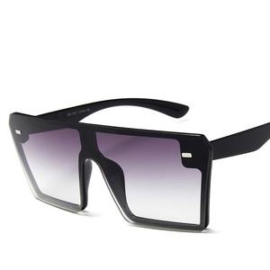 RIMI&Co. SELECT フラットトップサングラス ブラック