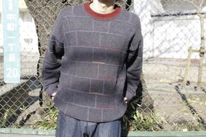 Acrylic × Wool Knit Sweater
