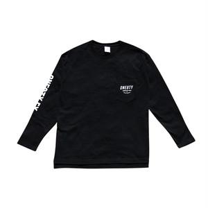 ポケットロングTシャツ 《ブラック》