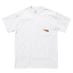 【SALE2個】ポケット刺繍Tシャツ