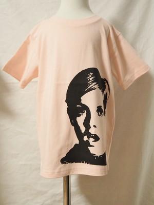 【Kids】ツイッギーキッズTシャツ◆ライトピンク