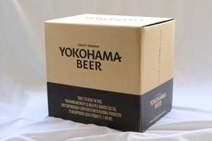 【GIFT BOXにてお届けします!】 横浜ラガー 350ml  24本セット/YOKOHAMA LAGER