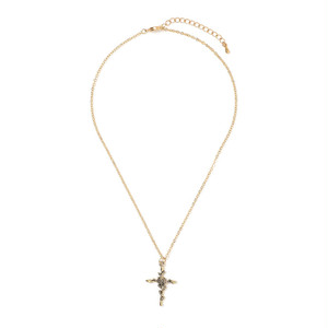 rosario rose necklace (A18-10031K)