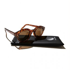 【HELLRAZOR】Monk Sunglasses - Brown