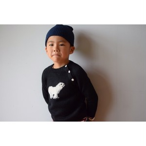 Oruro Kids 715-0001-BE Alpaca Animal Crew PolarBear