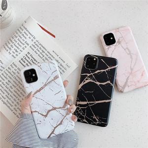 【送料無料】iPhone11ケース 大理石風  ピンク マーブル おしゃれ i1191
