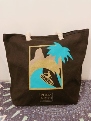 [WHOLE FOODS×PUNA NONI] HAWAII SURF コラボトートバッグ