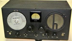 ビンテージ ハリクラフタ-ズ S-19R SKY BUUDY 通信型 受信機 1939年~