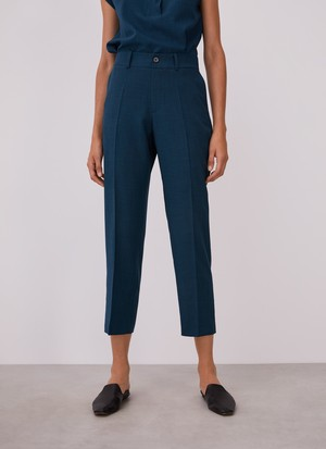 STRAIGHT TROUSERS WITHOUT DARTS