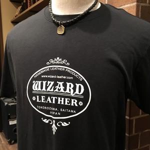 半袖Tシャツ(WIZARD LEATHER ロゴ)ts01
