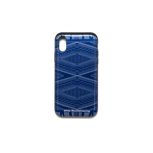 iPhoneX case【BANDANA PATTERN】- NAVY