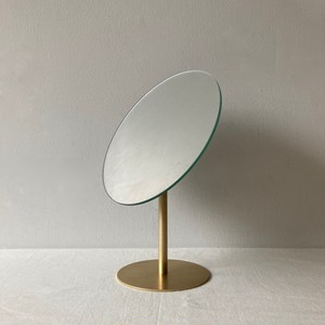 MAKEUP - MIRROR / BRASS
