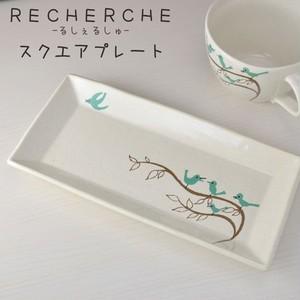 スクエアプレート鳥たち 【Shinzi Katoh Design】ルシェルシュ