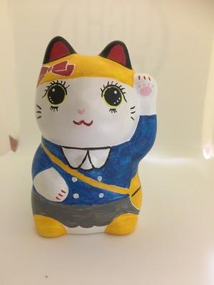 招き猫アート No.5 園児(女の子)
