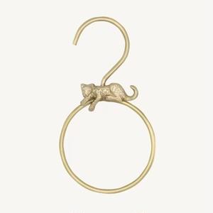 Jenna Leopard Round Hanger