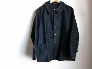1950's Black Moleskin Jacket