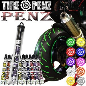 TIRE PENZ 単品 タイヤペンズ全10色  タイヤペン タイヤマーカー