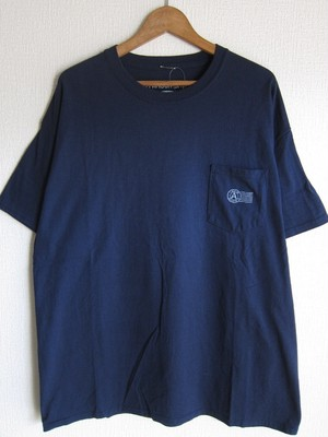 A WAGON SHOP : STASH S/S TEE <NVY>