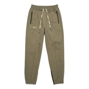 MIL ZIPPER JOGGER PANTS / OLIVE