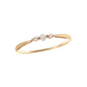 K18YGダイヤモンドリング 010209003899