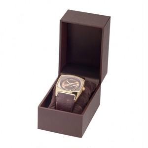 ブレスレッド・時計用ボックス レザーペーパー調 12個入り KL-104-WBR