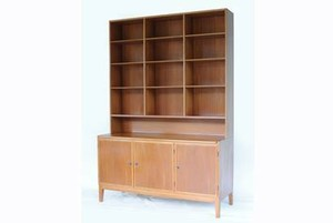 Danish Shelf Mahogany w1400