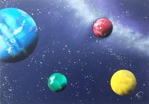 『惑星』宇宙のようにあなたの可能性は無限。