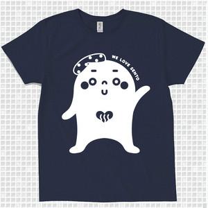 ゆっポくんTシャツ〈XL〉ネイビー