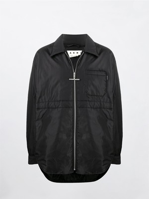 MARNI Padded Nylon Shirts Jacket Black CUMU0188W0-S52126