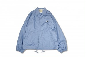 EVILACT(イーブルアクト) / Nylon Coach Jacket(saxe blue)