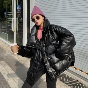 【アウター】ファッションストレートスカート韓国系ジッパースタンドネックコート36051858