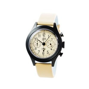 VAGUE WATCH CO.【2EYES クロノグラフ BEIGE】