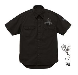 【特注ワークシャツ】YOUシンガーソングライター八周年&Glowly's設立二周年記念ワークシャツ