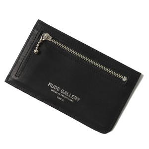 RUDE PASS CARD CASE (BLACK/SILVER) / RUDE GALLERY