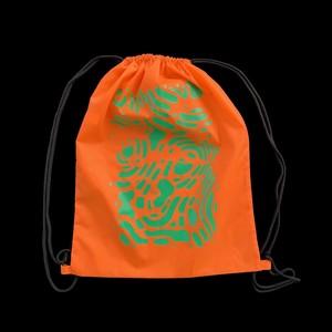 """KIM SONGHE """"HEAVEN"""" Knapsack Orange/Sun"""