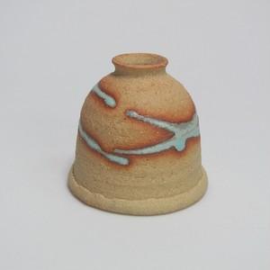 釣鐘一輪  陶器(信楽焼)製【SO-4614】