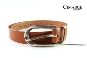 チマブエ グレースフル|CIMABUE graceful |WINS FACTORYコラボ|ブライドルレザーベルト|キャメル|36