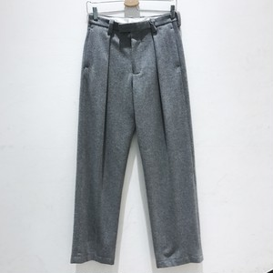 【SALE30off】 ETHOSENS Wool wide pants  gray