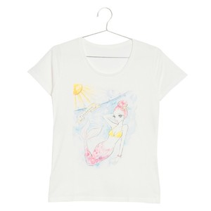 shine woman Tshirts 徳浜 Lady's