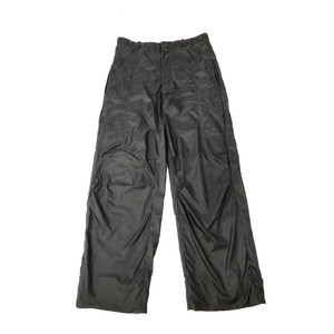 ARMANI NYLON WIDE TROUSERS