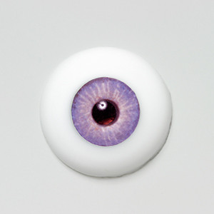 Silicone eye - 06/07mm Liz Violet
