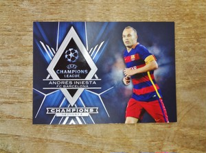 アンドレス・イニエスタ No.CP-AI 2015-16 TOPPS UEFA CHAMPIONS LEAGUE