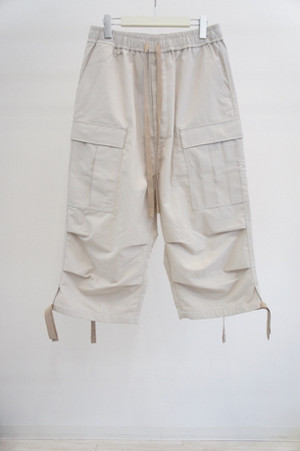 US Fatigue Pants Cropped -LT.GRAY- / ANEI