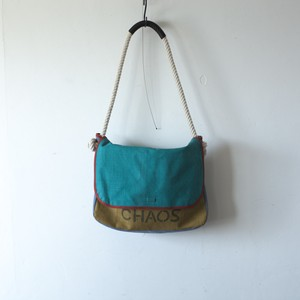 MESSENGER BAG / green