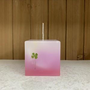 LUCKY LEAF CANDLE キャンドル 【ローズの香り】